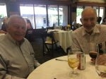 Hal Mooney and Paul Ehrlich at the Stanford Staff Club